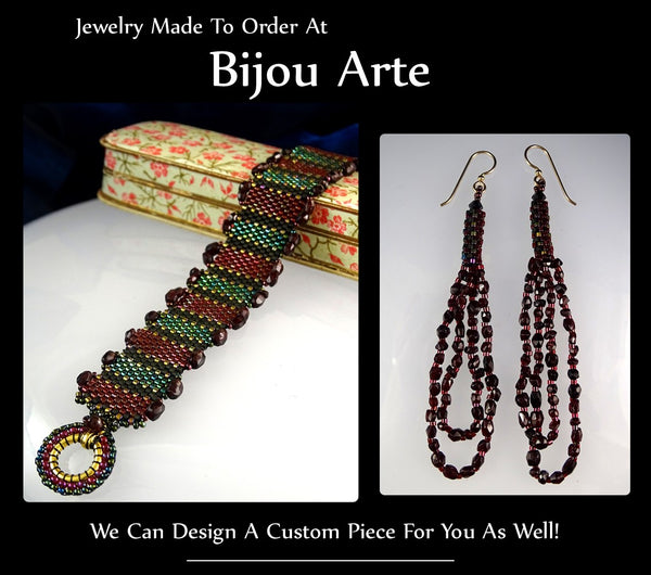 Jewelry Made To Order At Bijou Arte Designs