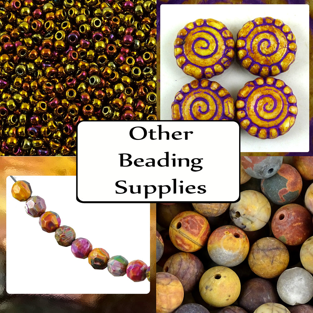 Myuki Seed Beads, Czech glass, Italian resin, semi-precious and more...