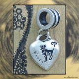 "Sterling Silver ""Pandora-style"" Astrological Charm: ARIES"
