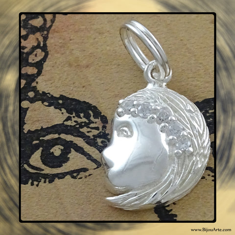 Sterling Silver Astrological Charm: VIRGO