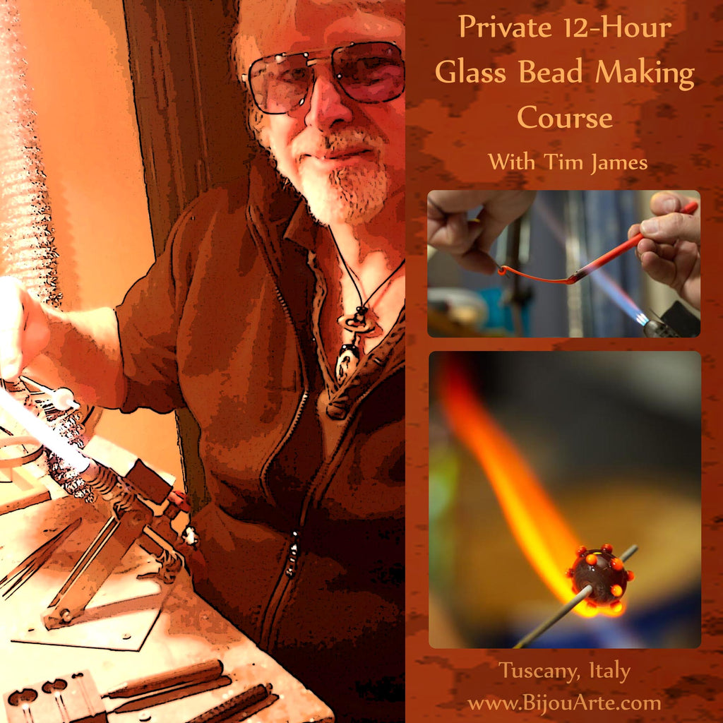 Introduction To Lampwork (Glass Bead Making): 12 Hour Course