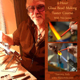 Beginners Glass Bead Making 4-Hour Taster Course