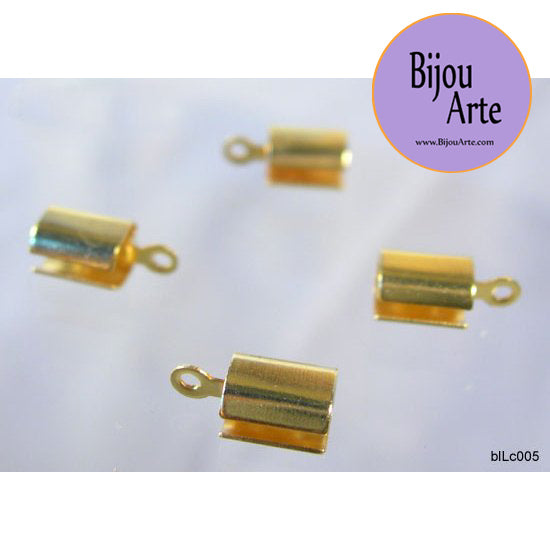Gold-Plated Crimps (Bag of 10)