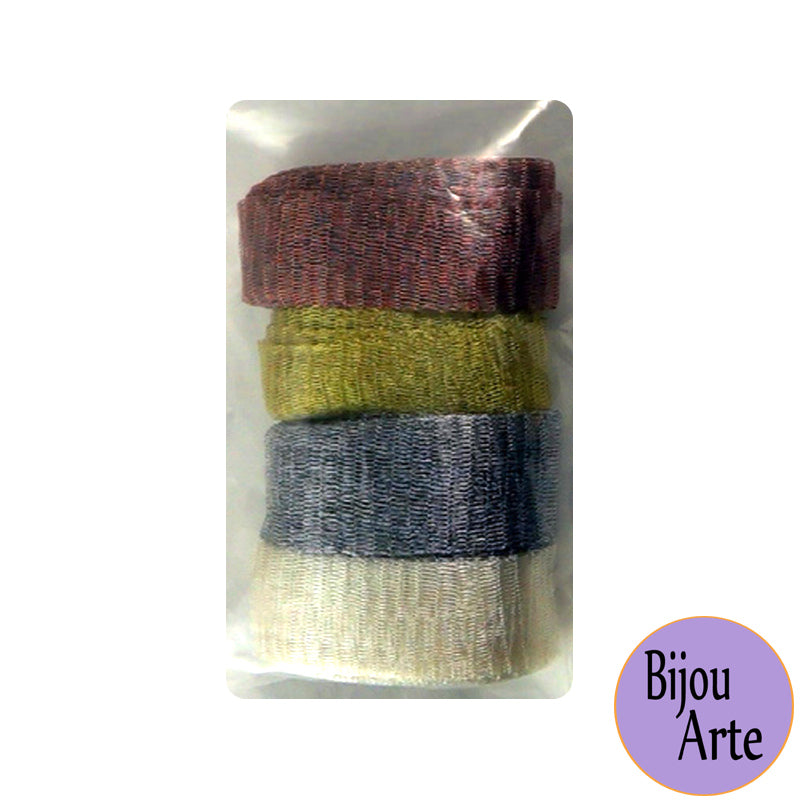 Wire Mesh Ribbon Color Pack (20mm): Alchemy