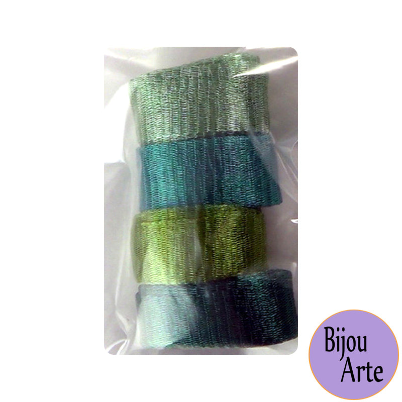 Wire Mesh Ribbon Color Pack (20mm): 50 Shades of Green