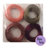 "Wire Mesh Ribbon Color Pack (6mm): ""Autumn Leaves"""