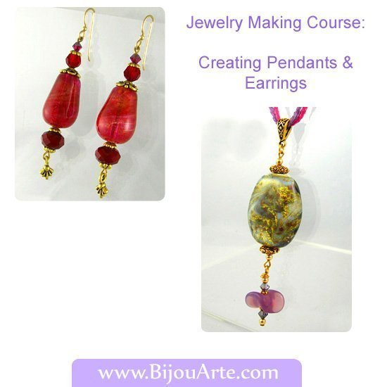Jewelry Making Course: Creating Pendants and Earrings