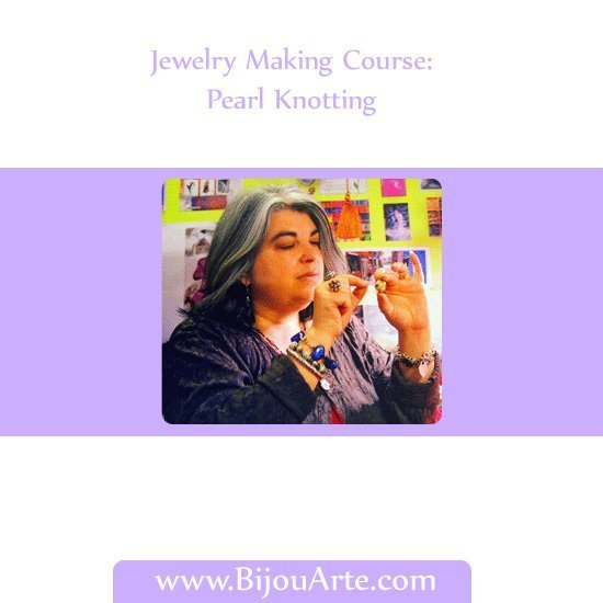 Jewelry Making Course: Pearl Knotting