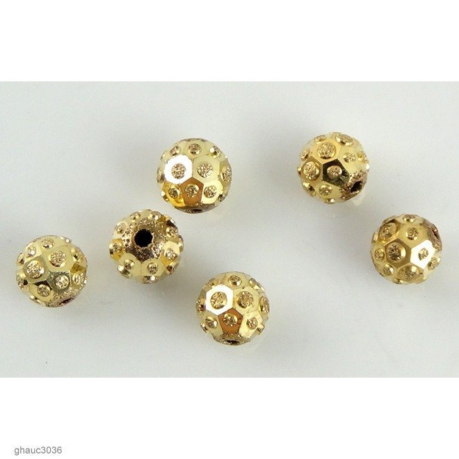 """Sequins"" Beads: Pack of 6"