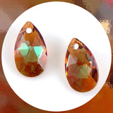 Swarovski Tear-Drop Crystals: Pack of 2