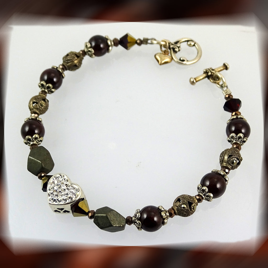 "The ""Twin Flame"" Bracelet (Capricorn)"