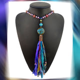 Boho Rhapsody Tassel Necklace