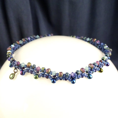 The Princess Anklet: Matte Blueberry