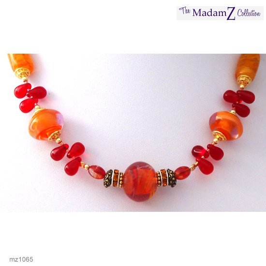 Beaded Necklace: The Fire Inside