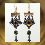 The Cathedral Window Earrings
