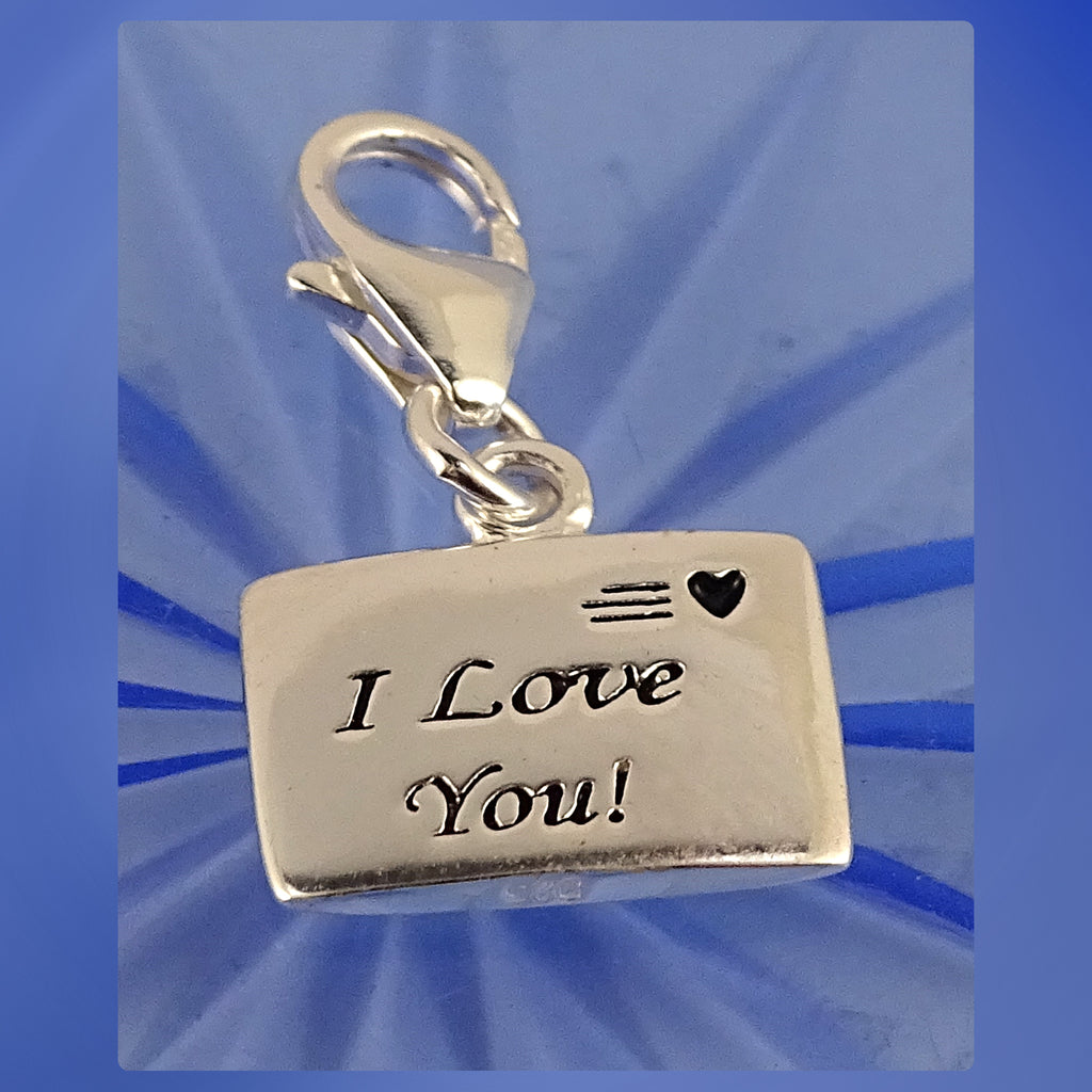 Sterling Silver Charm: Love Letter