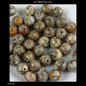 Semi-Precious Stones: Jasper (Pack of 10)