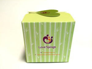 LoveSprings bamboo face towel (gift set)