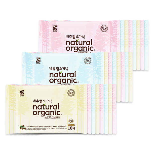 Natural Organic Premium - PORTABLE 10sheets x 20 Packs
