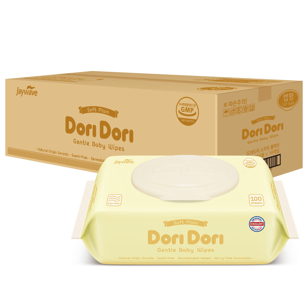 Dori Dori Soft Plain CAP 100 sheets x 10 packs