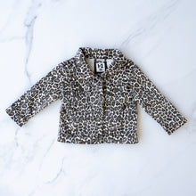 Load image into Gallery viewer, Cotton On Leopard Denim Jacket
