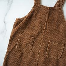 Load image into Gallery viewer, Chocolate Corduroy Dress (6Y)