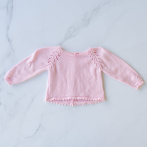 Delicate Detailed Knit Sweater