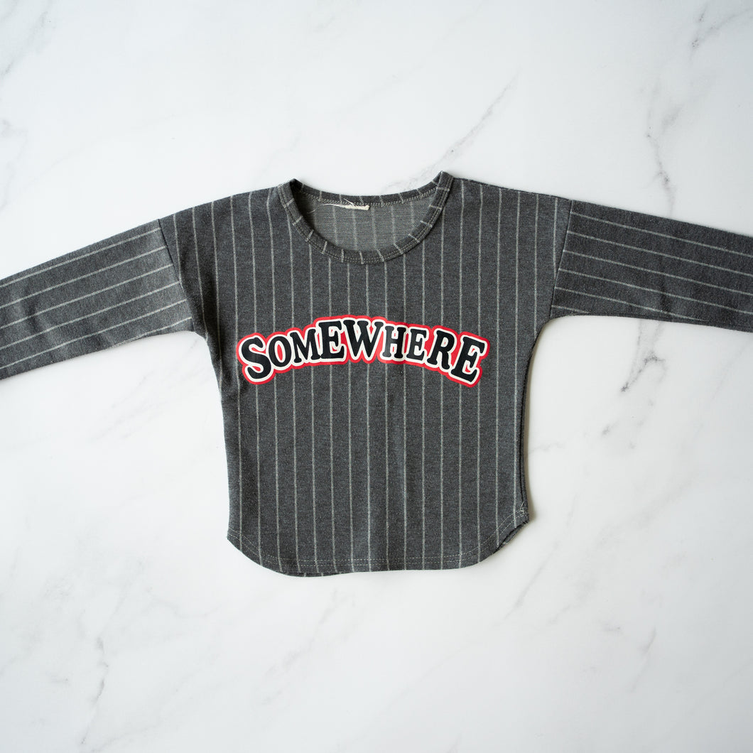 'Somewhere'  Striped Sweater