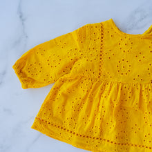 Load image into Gallery viewer, Marigold Smock Top