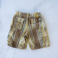 Load image into Gallery viewer, Mini Boden Check Shorts