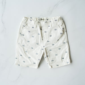Bicycle Print Shorts