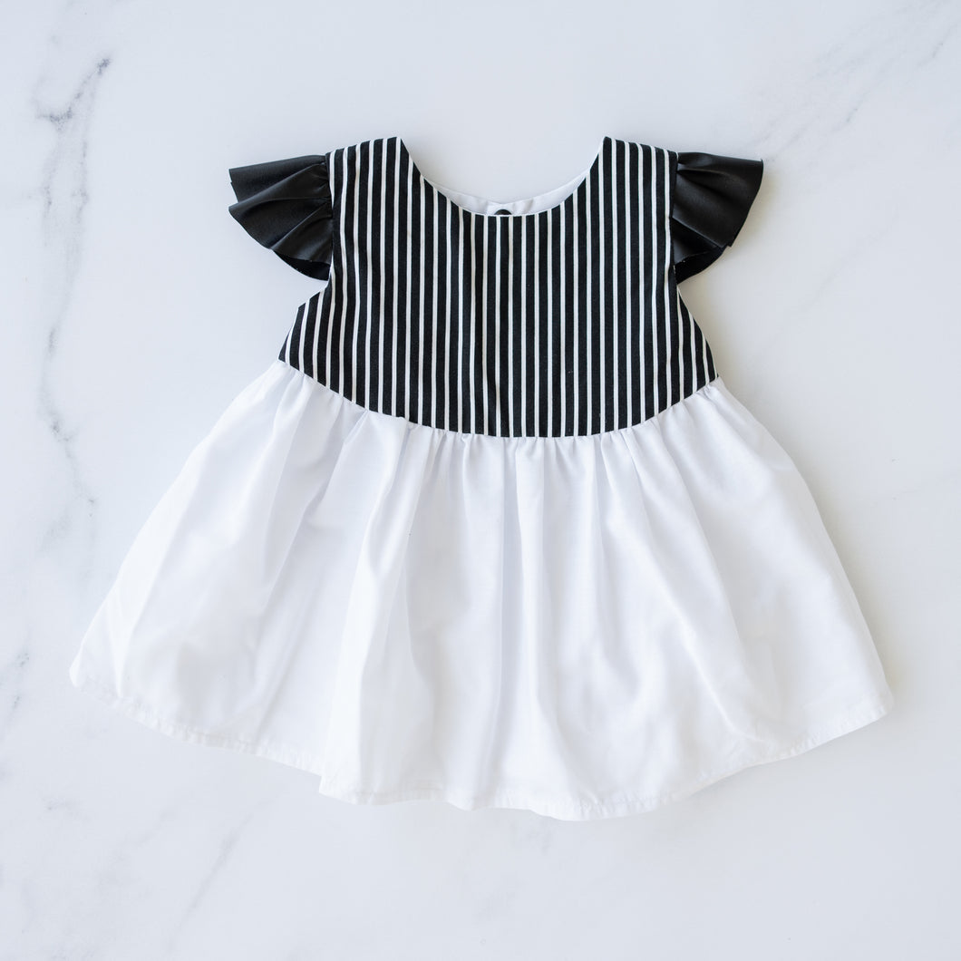 The Little Blush Monochrome Ruffle Top