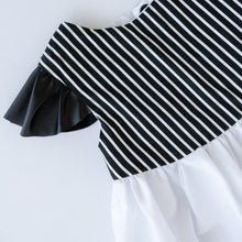 Load image into Gallery viewer, The Little Blush Monochrome Ruffle Top