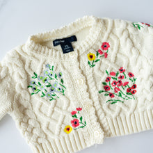 Load image into Gallery viewer, Gap Embroidered Cotton Cardigan