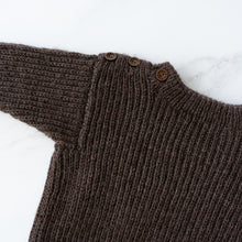 Load image into Gallery viewer, Dark Chocolate Knit Sweater
