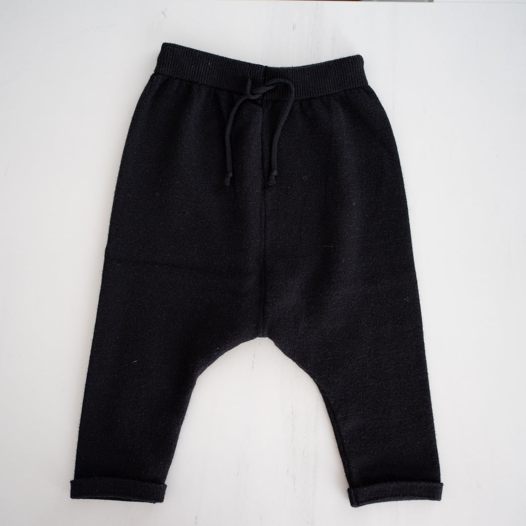 Knit Drop Crotch Pants