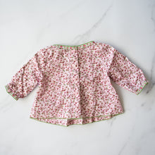 Load image into Gallery viewer, Pink Floral Blouse