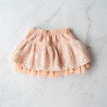 Load image into Gallery viewer, Peachy Pink Tutu Style Skirt