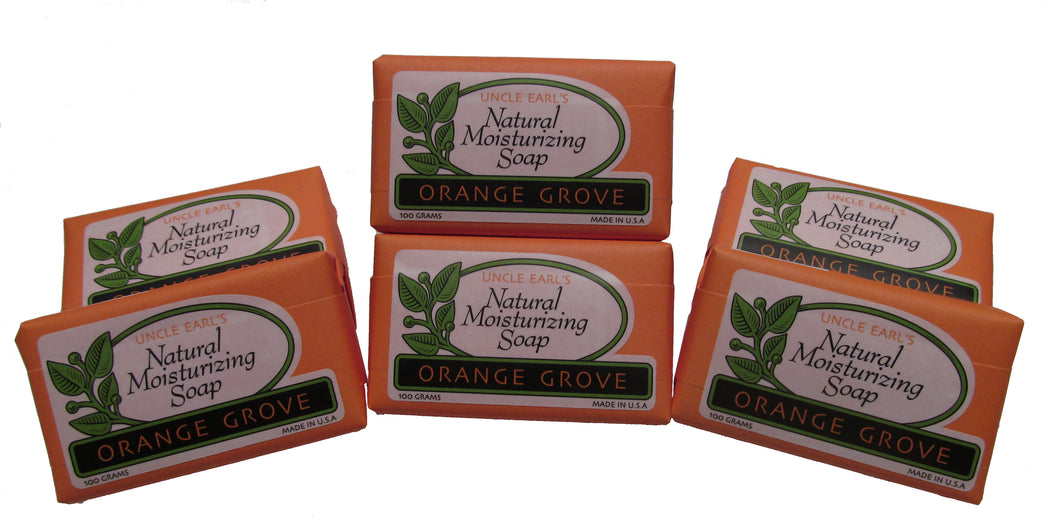 Bar Soap Six Pack - Orange