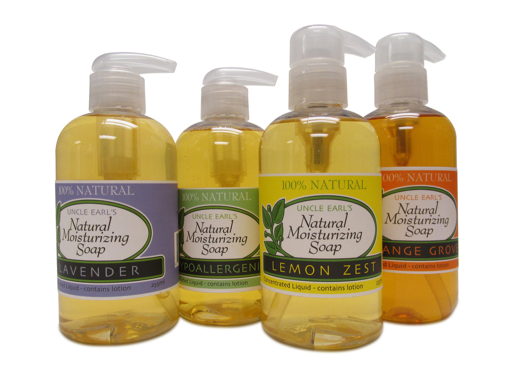 Concentrated Liquid 8 ounces - Hypoallergenic Musk No Added Scent