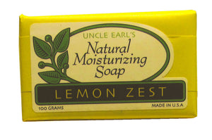Bar Soap, Lemon, Single