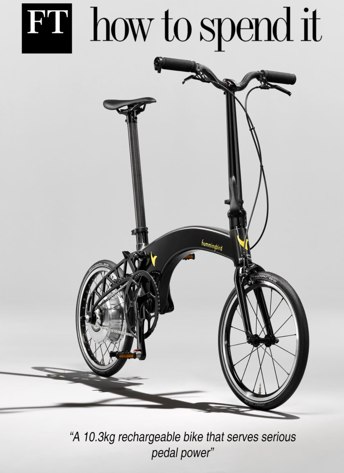 Hummingbird bike featured in FT how to spend it