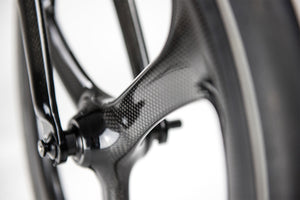 Single Speed Carbon Wheelset - Hummingbird Bike Ltd.