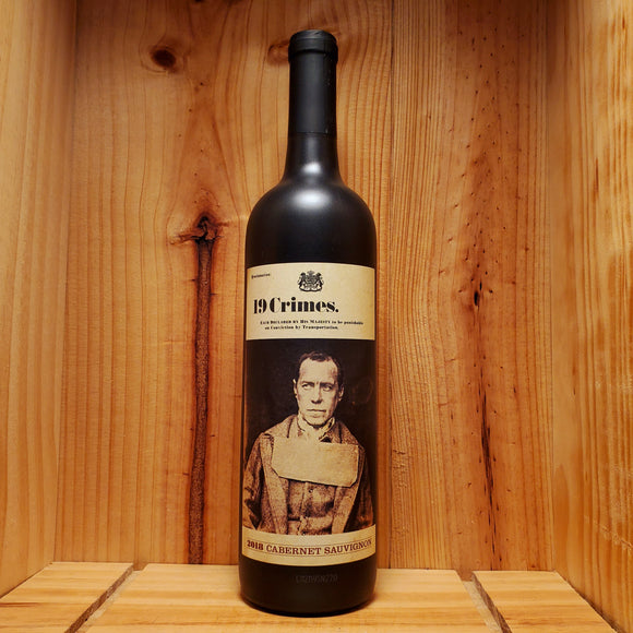 19 Crimes - Australia - Cabernet Sauvignon 750ml