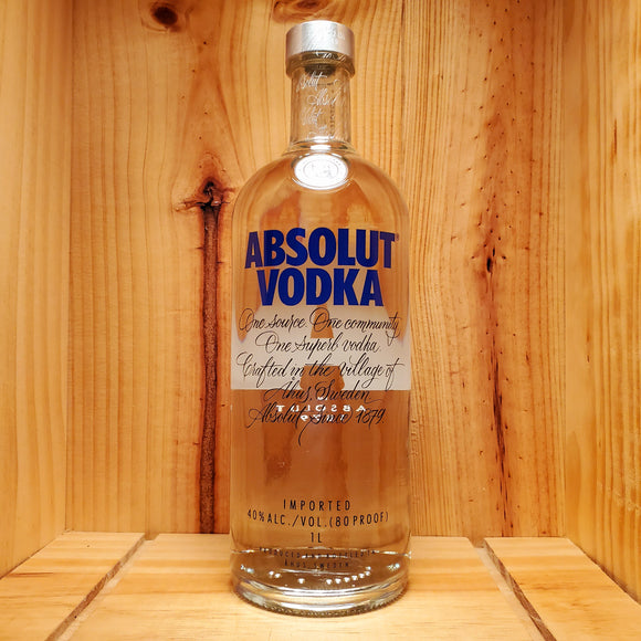 Absolut Vodka (750ml / 1L / 1.75L)