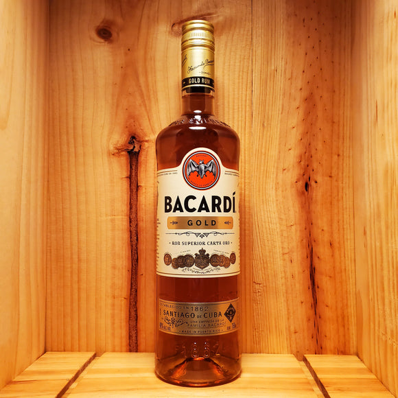 BACARDI GOLD (375ml / 750ml / 1L / 1.75L)