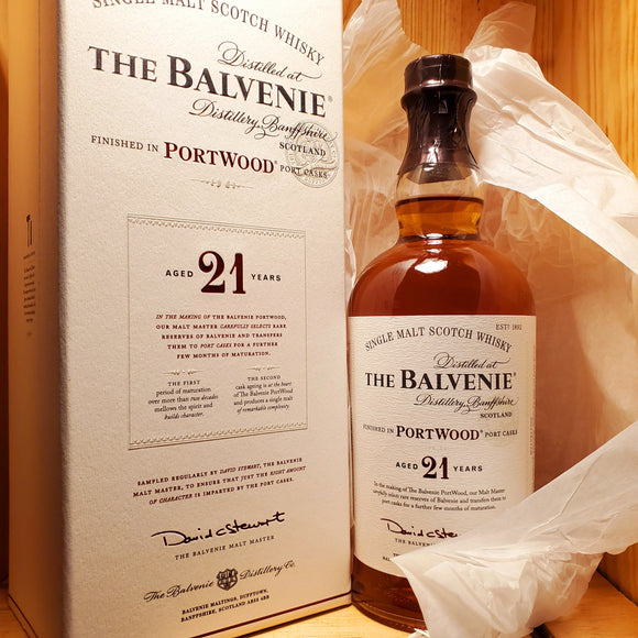 Balvenie 21 year Port Wood 750ml