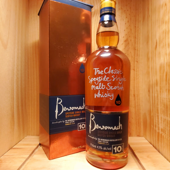 Benromach 10 year 750ml