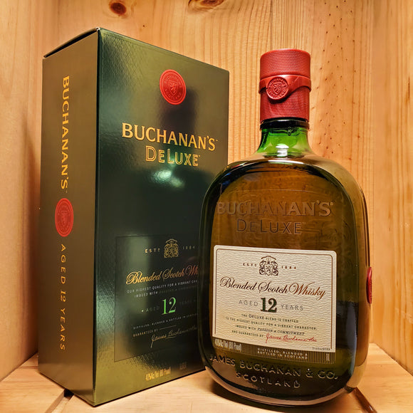 Buchanan's 12 year (750ml / 1L / 1.75L)