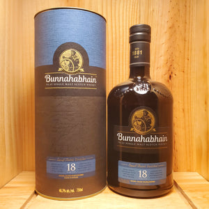Bunnahabhain 18 year 750ml
